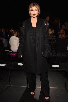 Kylie Jenner à la Fashion Week de New York