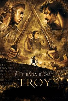 Troy ~ An adaptation of Homer's great epic, the film follows the assault on Troy by the united Greek forces and chronicles the fates of the men involved.""