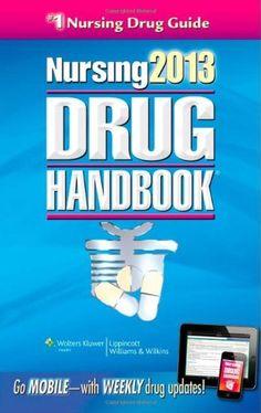 Drug Handbook (Nursing Drug Handbook) by Lippincott Williams & Wilkins Nursing Drug Handbook, Nursing License, Oncology Nursing, Used Textbooks, Nursing Books, Free Books Online, Science Books, Pharmacology