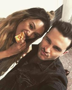 Kat Graham and Michael Malarkey at Bloody Night Con in Brussels, Belgium (May 2016)