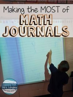 What should I expect in math journals?  How do students show what they know? Here are the answers to all of your burning questions about math journals!