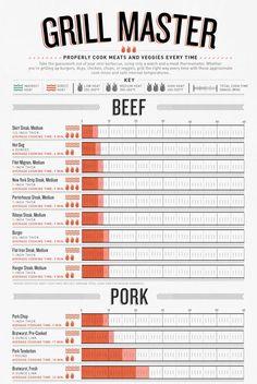 Grillmaster Data visualization / Infographics