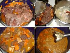 8_burgundske-hovezi Pot Roast, Ethnic Recipes, Food, Carne Asada, Roast Beef, Eten, Meals, Diet