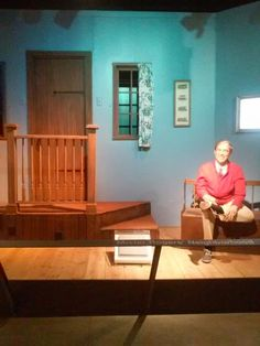 The set of Mister Rogers Neighborhood, Heinz History center. Pittsburgh, PA