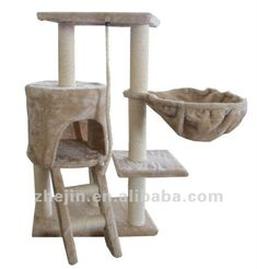 diy cat tower model. PURRFECT!