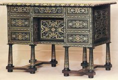 Desk (In the style of Andre Charles Boulle?)