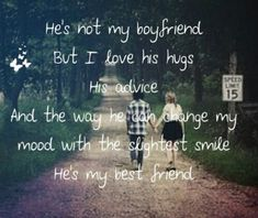 This is so true for all my guy friends Bestfriend Quotes For Girls, Best Friend Quotes For Guys, Birthday Quotes For Best Friend, Guy Best Friend Gifts, Guy Bff Quotes, Crazy Friends, Smile Quotes, Boy Bestfriend Goals, Boy And Girl Best Friends