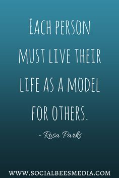 Great quote from Rosa Parks. #quote #inspiration