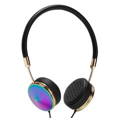 Layla Headphones (oil slick) http://shop.nylon.com/collections/whats-new/products/layla-headphones-oil-slick #NYLONshop
