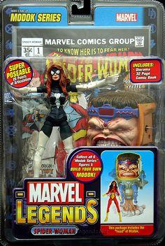 Marvel Legends MODOK Series Arachne