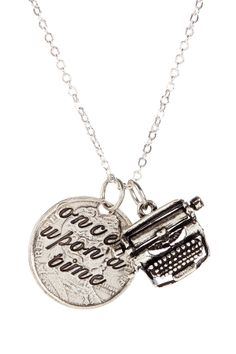 Once Upon A Time Necklace//