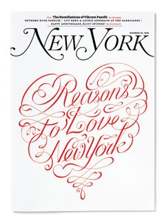 Field Study | NY Mag: 5 Reasons to Love New York