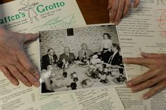 President Harry S. Truman was one of the diners at Bratten's Seafood Grotto, a former Utah institution that operated for over 40 years before closing in the late 1980s.  The Weilenmann siblings still have a black and white photo of the president seated at a table while their mother, Marie, hands him a Bratten's menu. (Francisco Kjolseth  |  The Salt Lake Tribune)