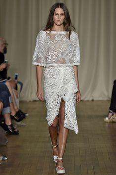 Keep an eye out for upcoming post on fashion week looks we covet on threetheory.com   #threetheoryblog #threetheory  Marchesa+Spring+2015+Runway+Show+via+@WhoWhatWear