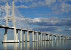 Lisbon|Vasco da Gama Bridge Link:https://www.facebook.com/pages/PhotodoSantos/182630631892322?ref=hl
