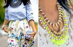 I Spy DIY: DIY INSPIRATION | Layered Necklaces