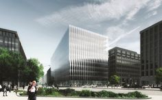 Image 2 of 16 from gallery of Winners of the 2017 Architectural Review MIPIM Future Project Awards Announced. Offices: 2050 M Street, Washington, DC, USA, designed by REX Architecture for Tishman Speyer (completion expected 2019). Image Courtesy of The Architectural Review