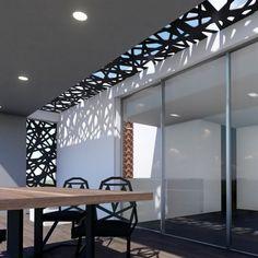 Mi Celosía (@micelosia) • Fotos y vídeos de Instagram Gate Design, Roof Design, Ceiling Design, House Design, Outdoor Pergola, Diy Pergola, Small Modern Home, Exterior Makeover, Pergola Designs