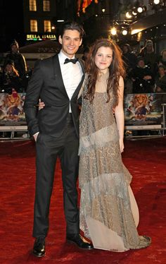 Ben Barnes and Georgie Henley attends Royal World Premiere of The Chronicles of Narnia The Voyage of the Dawn Treader held at The Odeon Leicester Square in London, United Kingdom (30-11-2010).