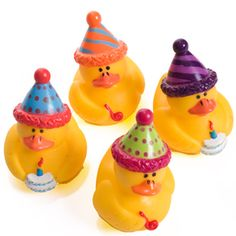 Happy Birthday Rubber Duckies