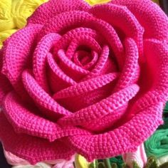 "purple-rose-emporium: "" fibrearts: ""Crochet Rose "" Wow! """