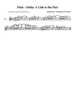video game sheet music flute - Google Search