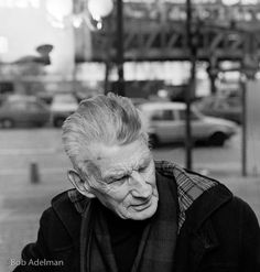 Bob Adelman. Rare photos of Beckett in Paris