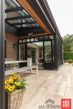 Pergola Ideas For Patio, Pergola Patio, Backyard Patio, Extension Veranda, House Extension Design, Facade Design, Patio Design, Open Plan Kitchen Interior, House Makeovers