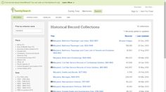 Genea-Musings: Tuesday's Tip - FamilySearch has 12 Maryland Collections