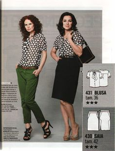 """Search Results for """"manequim october – FehrTrade Sewing Magazines, Capri Pants, October, Search, Skirts, How To Wear, Tops, Fashion, Capri Pants Outfits"""