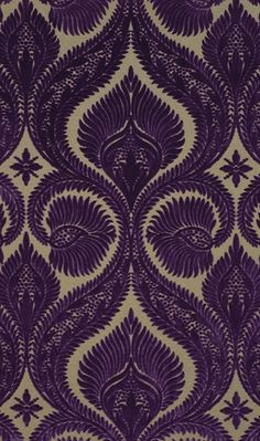 interior wallpapers | Dryden Velvet - Osborn & Little