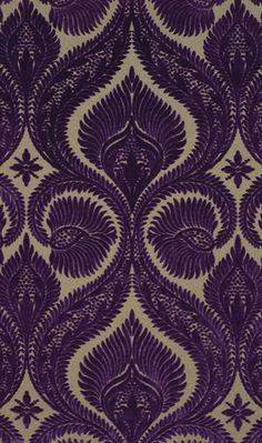 interior wallpapers | Dryden Velvet - Osborn & Little