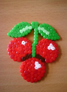 Cherries hama beads by tullemuzz