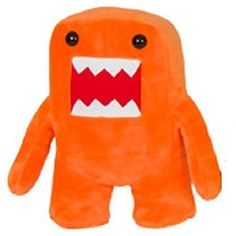 Domo Kun Orange Color 7 Plush Doll *** Details can be found by clicking on the image. (This is an affiliate link) #PlushFigures