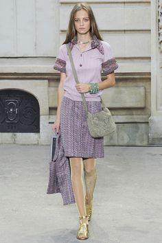 Chanel, Весна-лето 2015, Ready-To-Wear, Париж