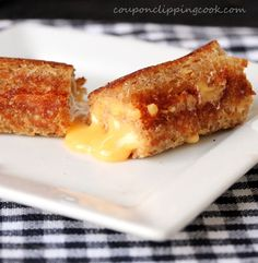 Grilled Cheese Roll Ups - never thought of this before, but a great idea :)