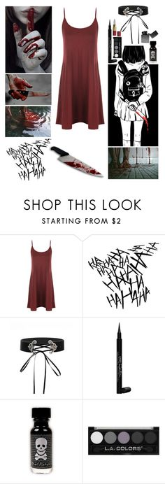 """""""I wanna see crimson red, crimson red splattered across the walls!"""" by insane-alice-madness ❤ liked on Polyvore featuring WearAll and Givenchy"""