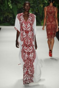 Naeem Khan Spring Summer 2014 Collection