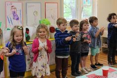 Choosing songs to sing for end-of-the-year preschool and pre-k presentations