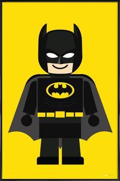 Batman Poster, Batman Art, Art Mural, Walter White, Sonne Illustration, Willy Wonka, Home Poster, Gotham, Canvas Art
