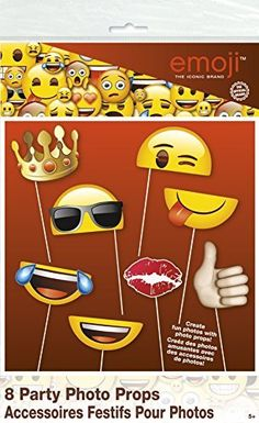 Emoji Photo Booth Props, 8pc, http://www.amazon.com/dp/B01EN2AX48/ref=cm_sw_r_pi_n_awdm_DEXGxbHS08Q16