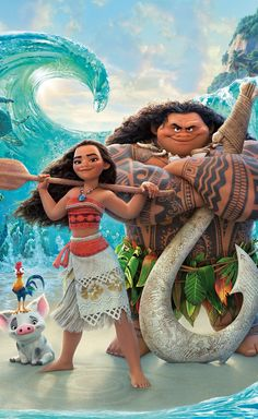 Moana brings characters to be proud of in a classic Disney Animated film. The film is built around lead character Moana's journey to find her purpose in life as she. Moana Disney, Disney Art, Disney Movies, Cute Disney Characters, All Disney Princesses, Punk Disney, Disney Fairies, Pixar Movies, Disney Princess Drawings