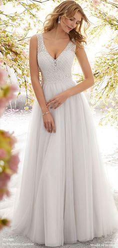 7e2e4ccbf9c Voyage by Madeline Gardner Fall 2018 Dreamy English Net Wedding Gown -  Dreamy English Net Wedding