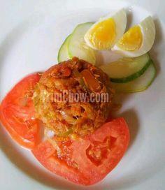 Spicy Smoked Herring & Egg at Kariwak Village (Tobago)