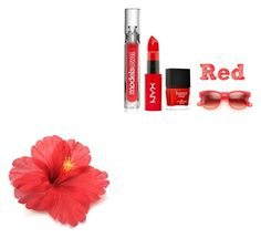 """""""Red lovers"""" by makayla-10 ❤ liked on Polyvore featuring mode, Butter London, Wildfox et Boohoo"""