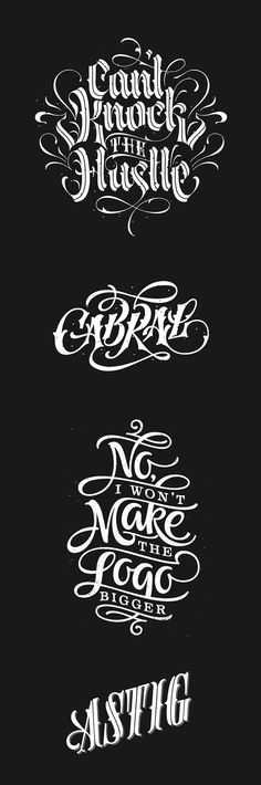 — 2014 Digital Type Compilation by Patrick Cabral