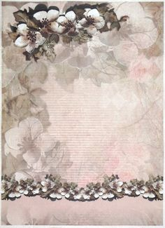 Ricepaper for Decoupage Decopatch Scrapbook Craft Sheet A/3 Magnolia Decor
