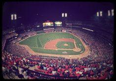 Busch Stadium, home of the St Louis Cardinals