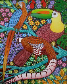 Photos de  BRAZILIAN NAIF ART - FLORA TROPICAL