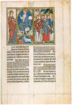Apocalypse de Douce, (Londres, école de la cour de Westminster, 1270-1272)